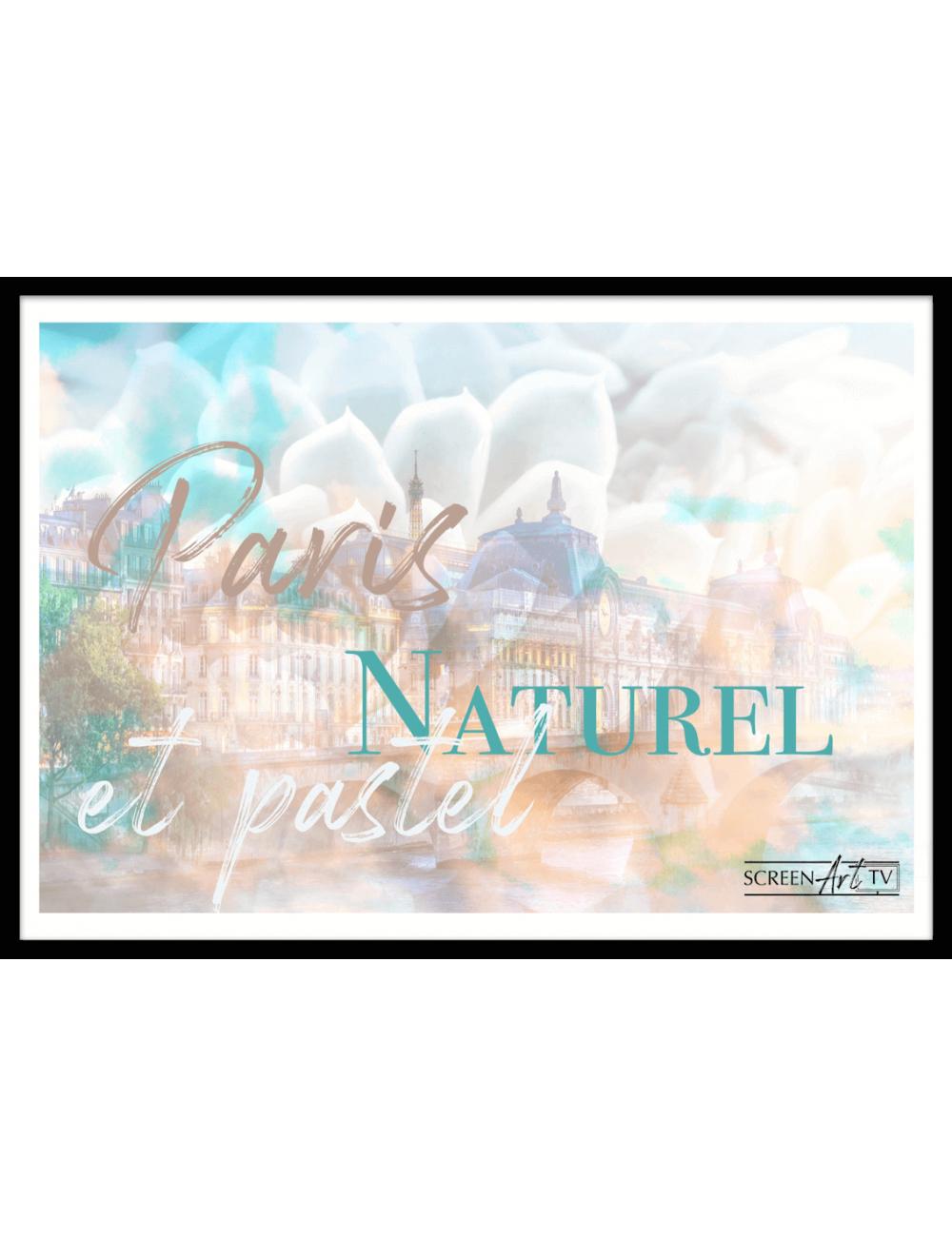 162 1-PARIS NATUREL ET PASTEL
