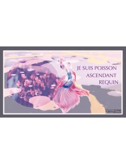 204 1-SIGNE ASTROLOGIQUE POISSON REQUIN